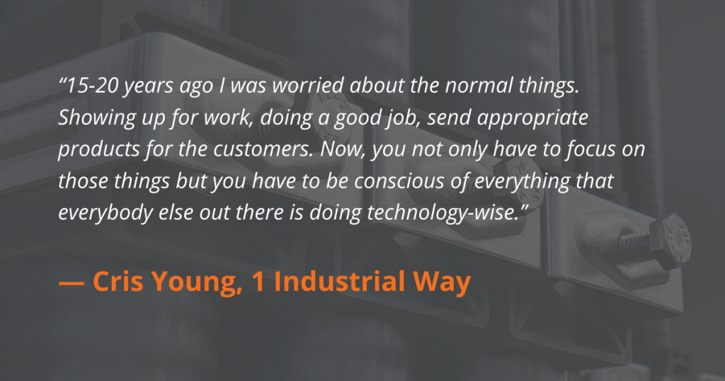 Interview with Cris Young from Hudson Fasteners/1 Industrial Way